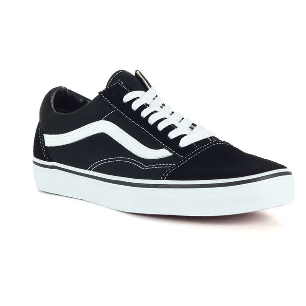 SCARPA OLD SKOOL, BLACK/WHITE, medium