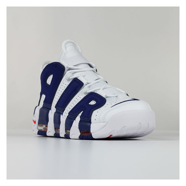 SCARPA NIKE AIR MORE UPTEMPO '96, WHITE/DEEPROYAL, medium