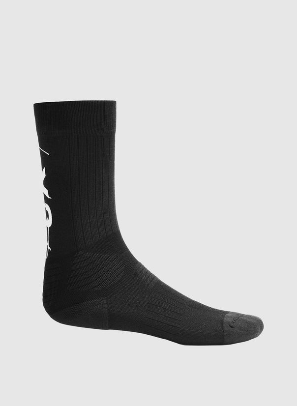 CALZINI Y-3 TUBE SOCKS, BLACK/WHITE, large