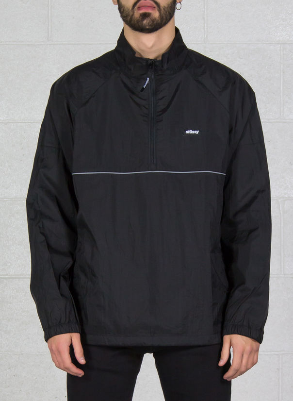 GIUBBOTTO SPORT PULLOVER, BLACK, large