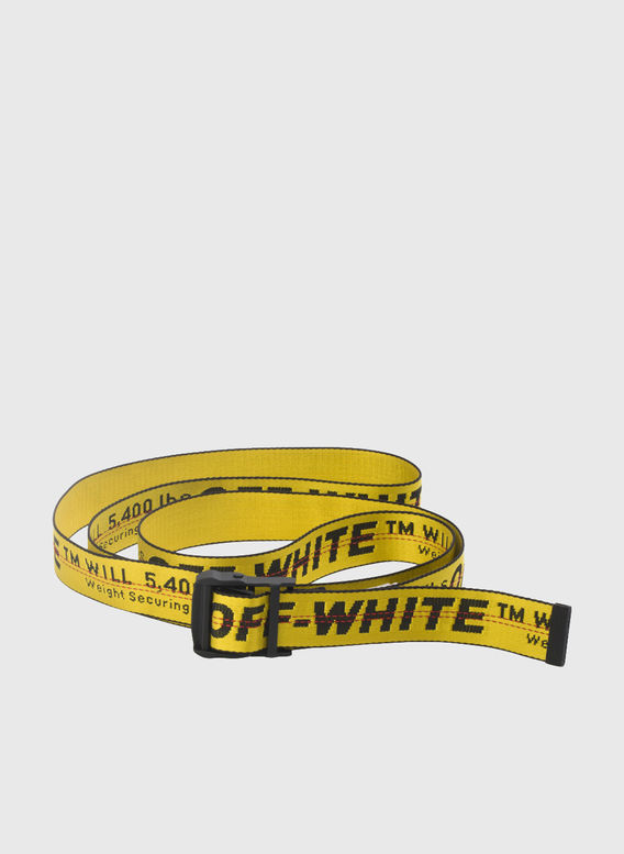 CINTURA INDUSTRIAL BELT, YELLOW/BLACK, medium
