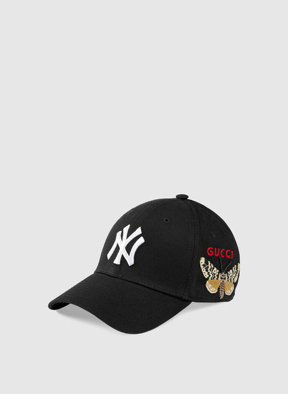 CAPPELLINO DA BASEBALL CON PATCH NY YANKEES, 1000BLACK, medium