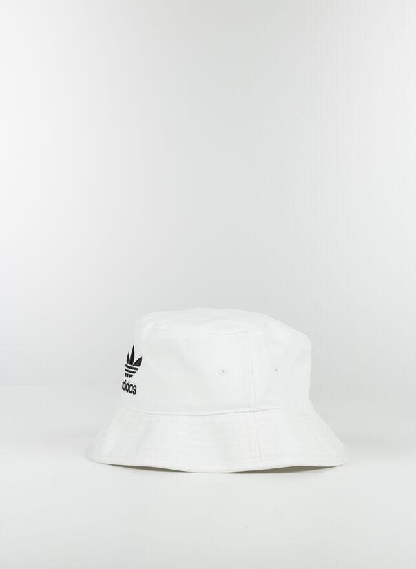 CAPPELLO ADICOLOR TREFOIL BUCKET, WHITE, large