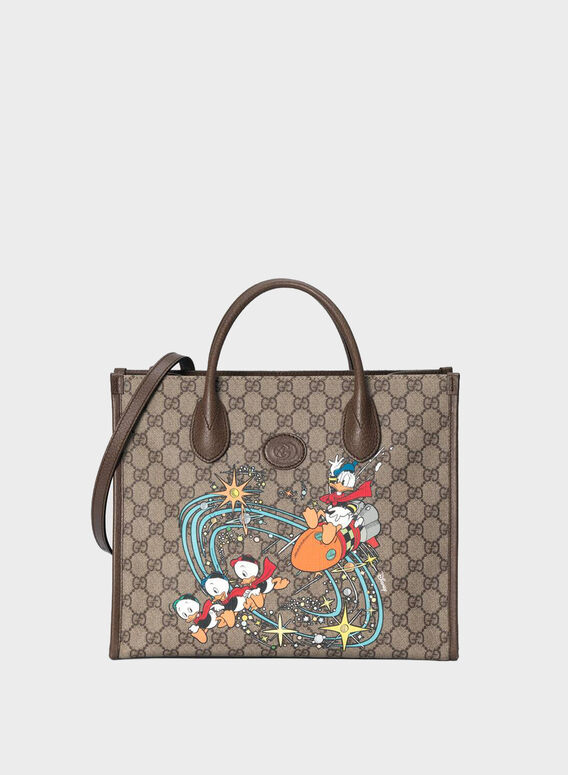 BORSA SHOPPING DONALD DUCK, 8679BEEBMULTINEWACER, medium