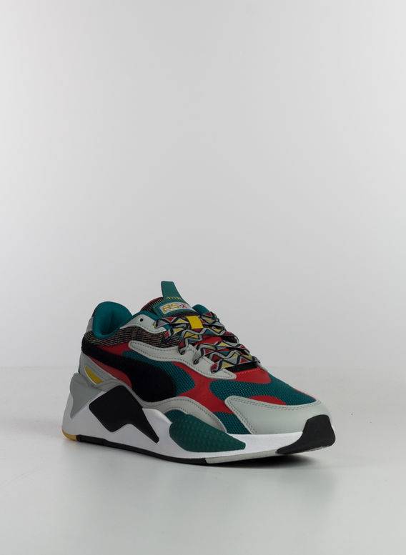 SCARPA RS-X AFROBEAT, TEALGREEN/PUMABLACK, medium