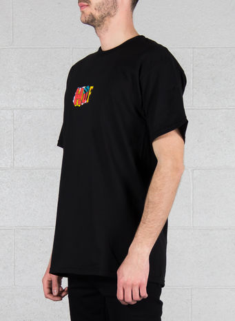 T-SHIRT OUR HEROES TEE, BLACK, small