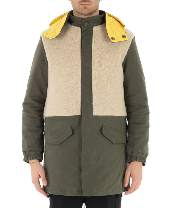 GIUBBOTTO, MILITARY GREEN, large