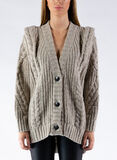 CARDIGAN STRUCTURED BRAID, SOIA, thumb