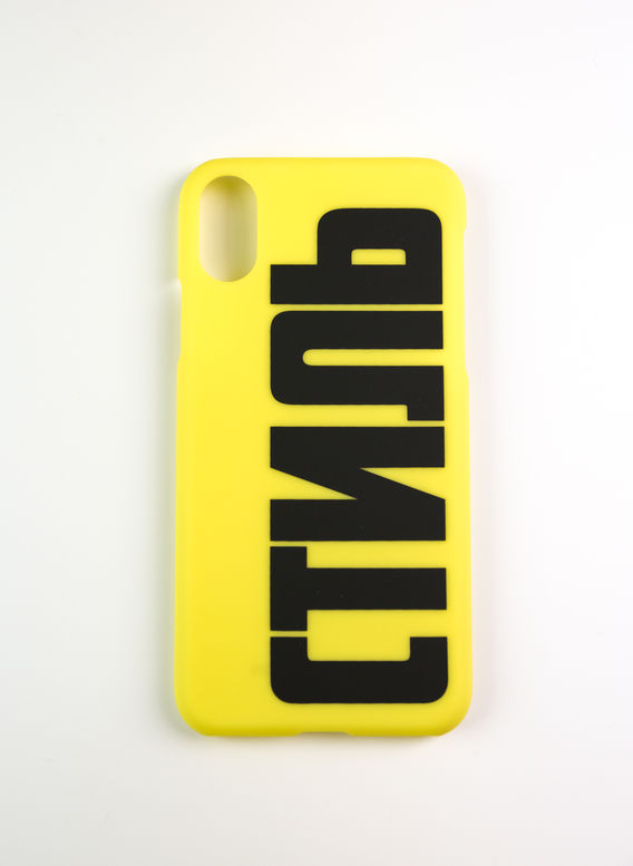 COVER CTNMB IPHONE COVER XS, GREENYELLOW/BLACK, medium