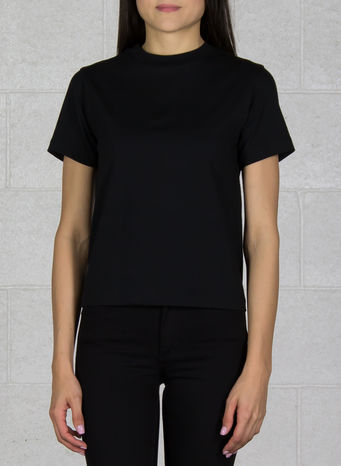 T-SHIRT YOHJI LOVE TUBULAR SS TEE, BLACK, small