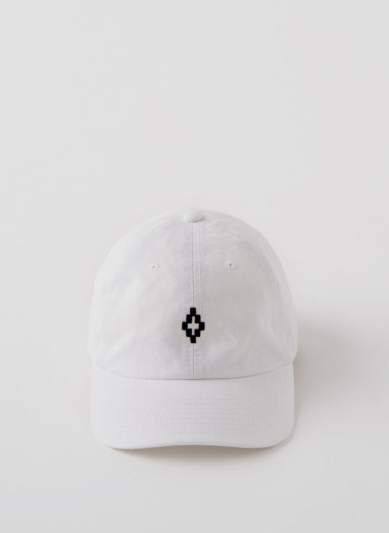 CAPPELLO CROSS CAP, WHITE/BLACK, medium