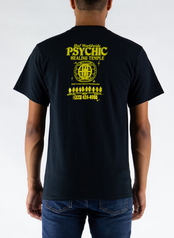 T-SHIRT PSYCHIC TEMPLE, BLACK, small