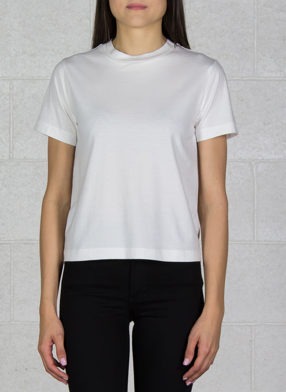 T-SHIRT YOHJI LOVE TUBULAR SS TEE, COREWHITE, medium