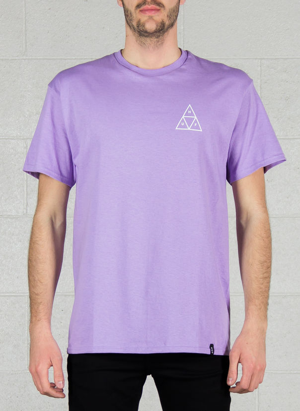 T-SHIRT TRIPLE TRIANGLE TEE, LAVND, large