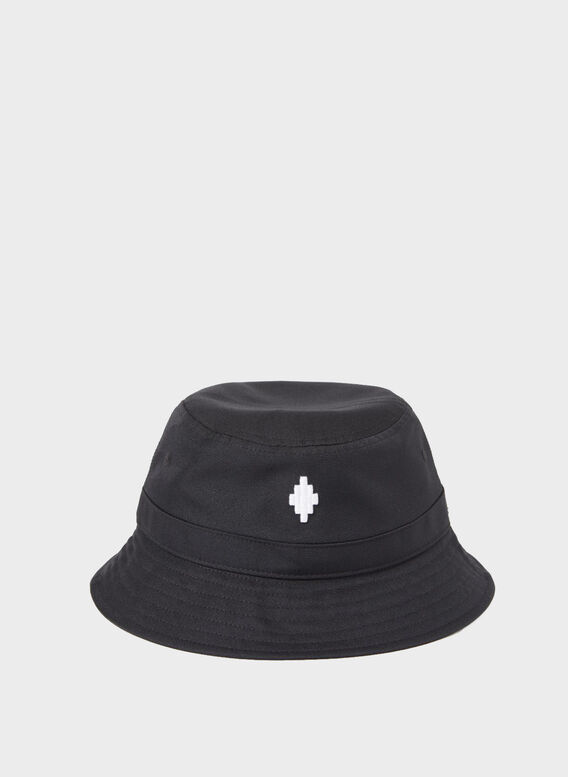 CAPPELLO CROSS BUCKET, 1001BLACKWHITE, medium