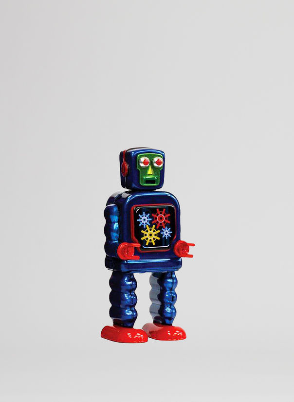 X ROBOT TINY TOY I17, GEARING ROBOT, large