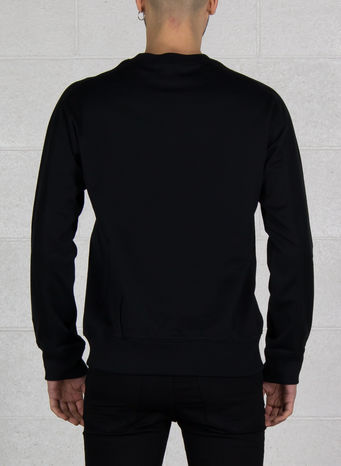 FELPA NEW CLASSIC SWEATER, BLACK, small