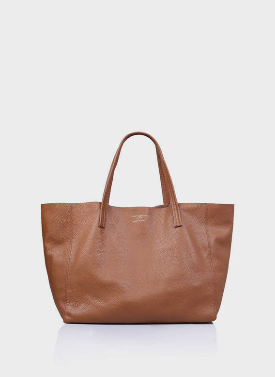 BORSA VIOLET HORIZONTAL TOTE, 33TAN, medium