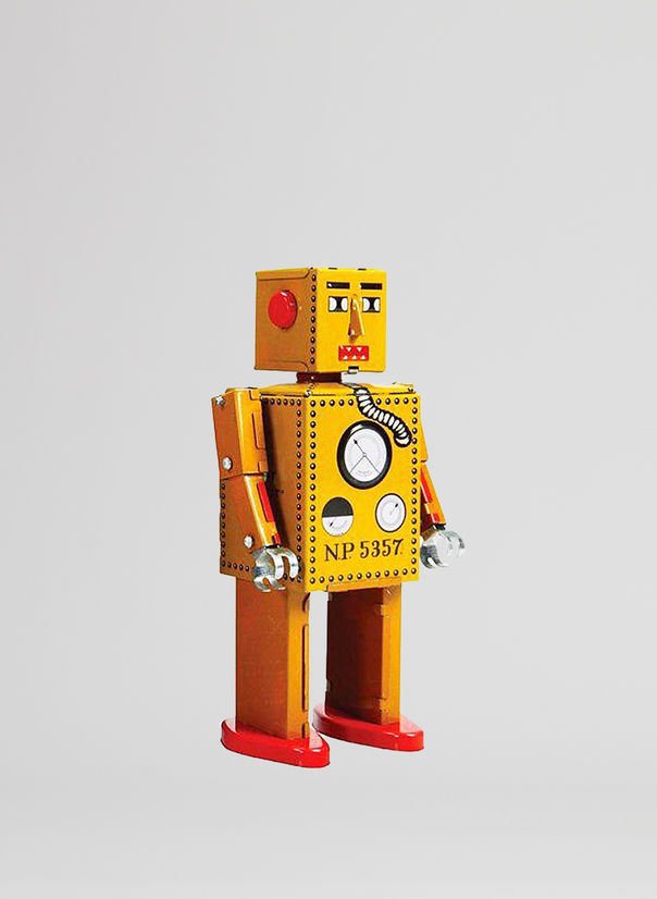 X ROBOT TINY TOY I17, LILLIPUT ROBOT, large