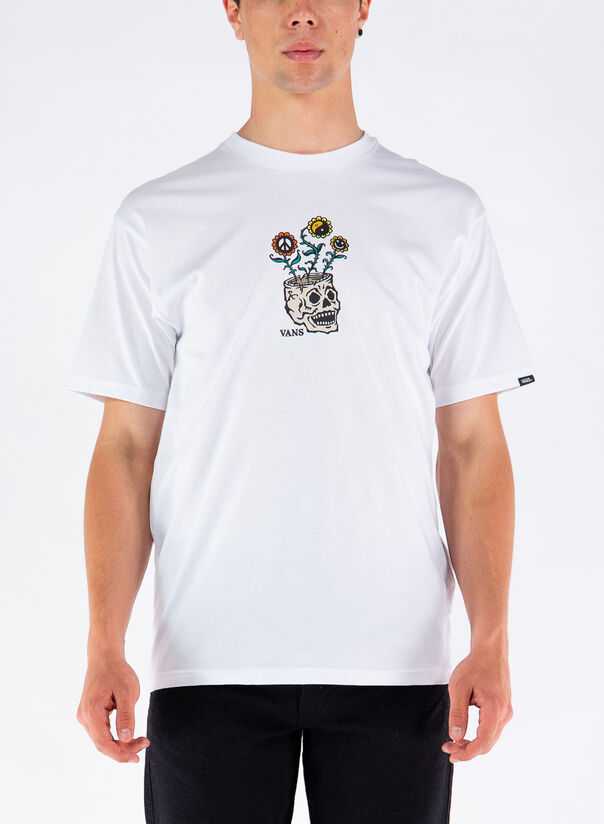T-SHIRT CON STAMPA, WHT1WHITE, large