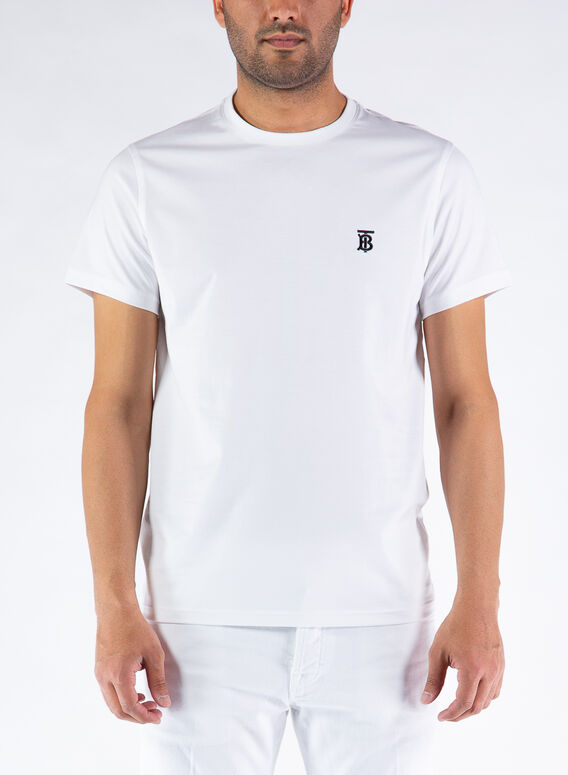 T-SHIRT PARKER, WHITE, medium