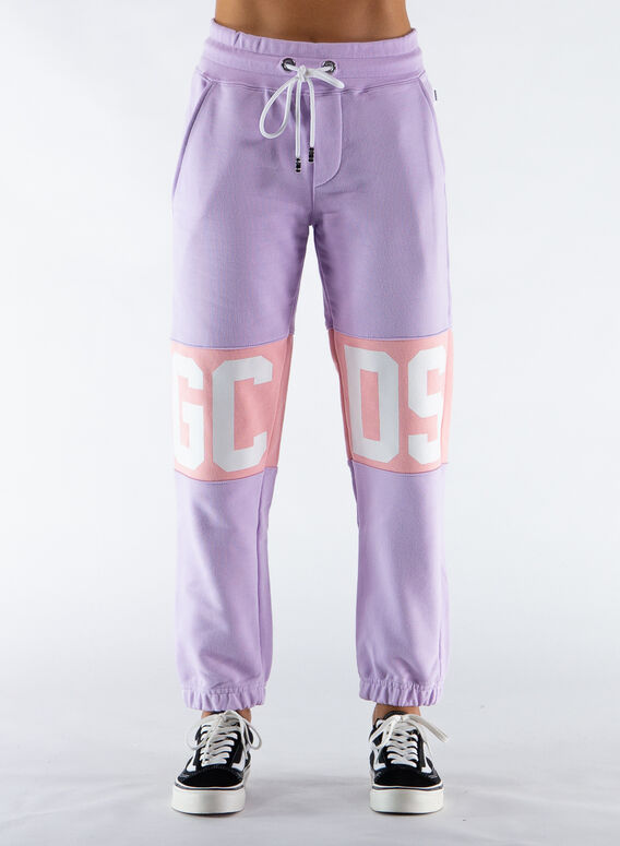 PANTALONE LOGO BAND, LILAC, medium