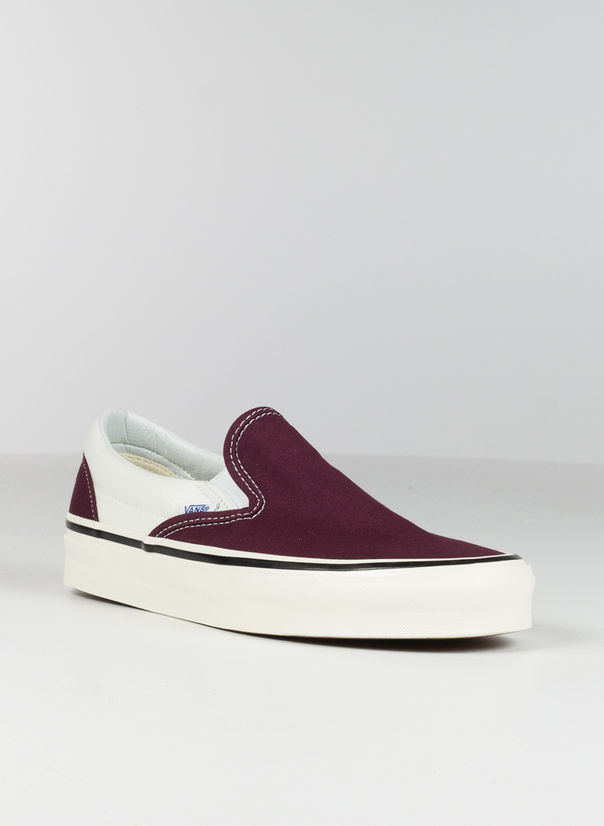 SCARPA SLIP ON, BORDEAUX, large