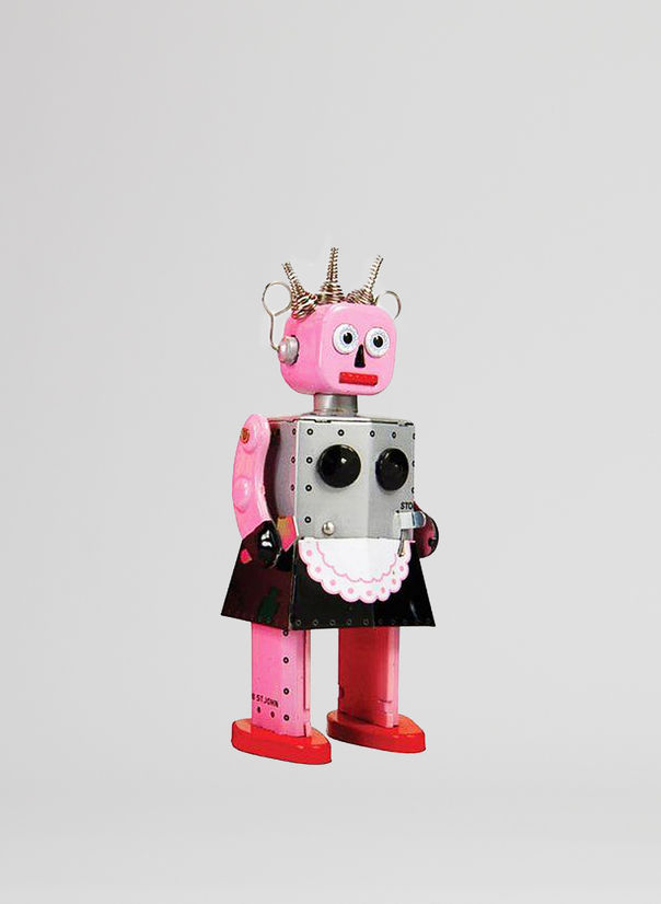 X ROBOT TINY TOY I17, ROXY ROBOT, large