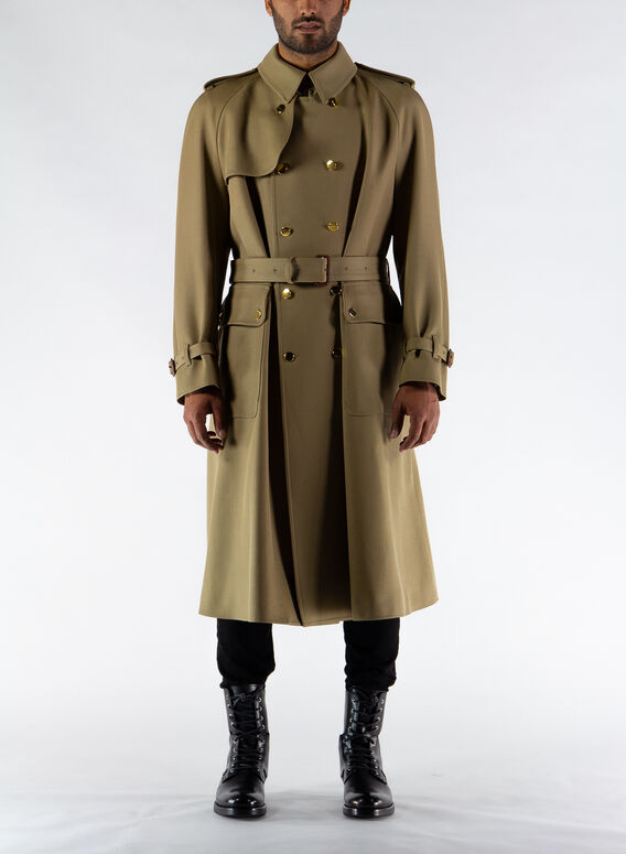 TRENCH IN LANA CON GUCCI BOUTIQUE, 2025, medium