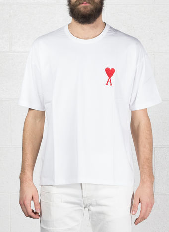 T-SHIRT BIG AMI DE COEUR, 100WHITE, small