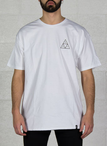 T-SHIRT ESSENTIALS LOGO, WHITE, small