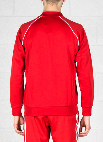 FELPA TRACK JACKET SST, RED, small