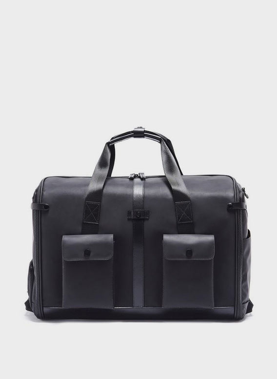 BORSA KINGSMAN DUFFLE BAG, BLACK, medium