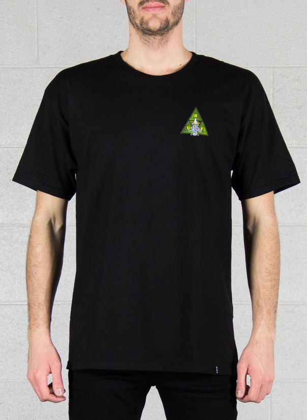 T-SHIRT DISASTER OPS TRIPLE TRIANGLE TEE, BLACK, large
