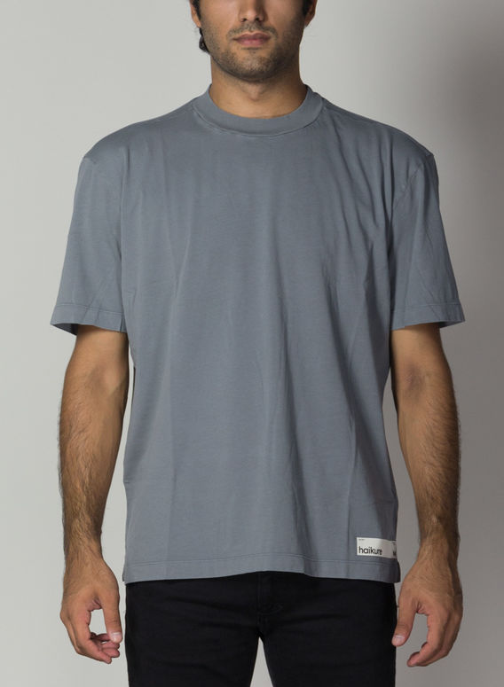 T-SHIRT CLIVE, GREY, medium