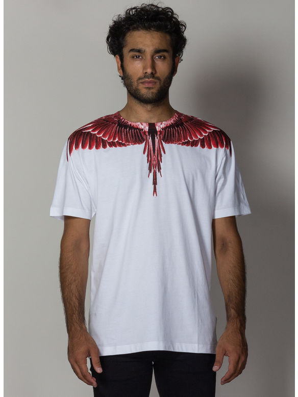 T-SHIRT RED GHOST WINGS, WHITE/MULTICOLOR, medium