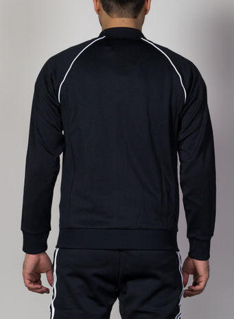 FELPA TRACK JACKET, BLACK, small