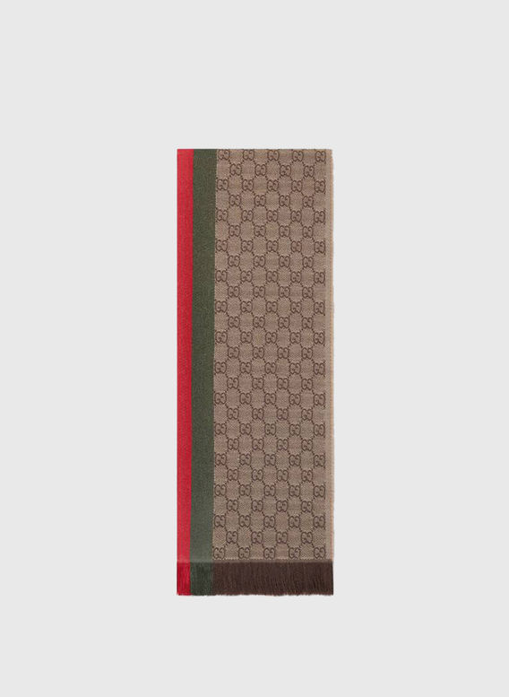 SCIARPA VERBIER, 2766LIGHTBROWNDGREEN, medium
