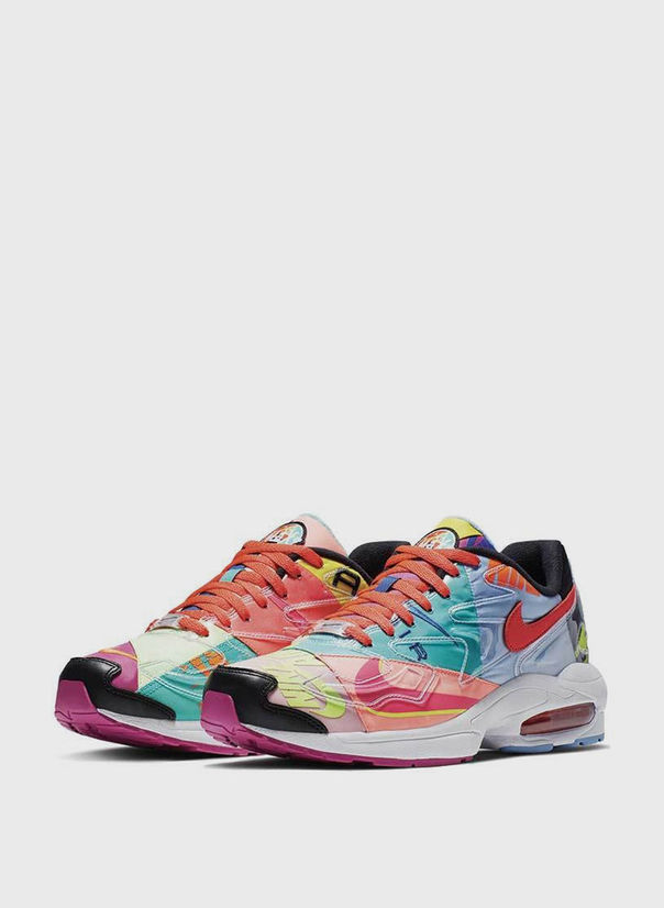 SCARPA NIKE AIR MAX2 LIGHT ATMOS, BLACK/BRIGHTCRIMSON, large