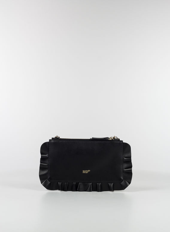 ROCK RUFFLES POCHETTE, 0NONERO, medium