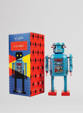 X ROBOT TINY TOY I17, R-35 ROBOT, small