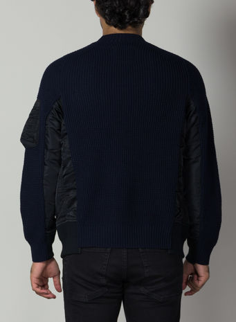 MAGLIONE MA-1X WOOL KNIT PUL, 201NAVY, small