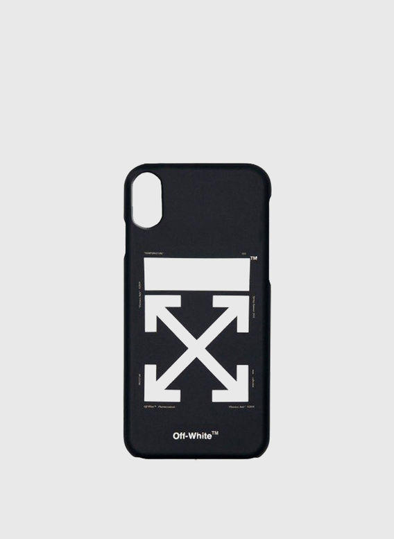 COVER ARROW CARRYOVER IPHONE XS, BLACK/WHITE, medium