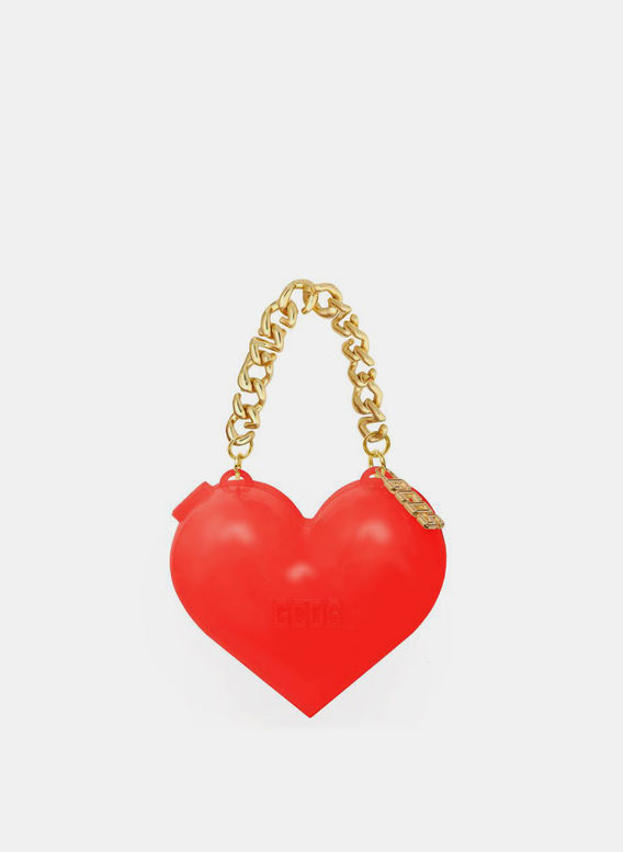 BORSA MUSE HEART BAG, RED, medium