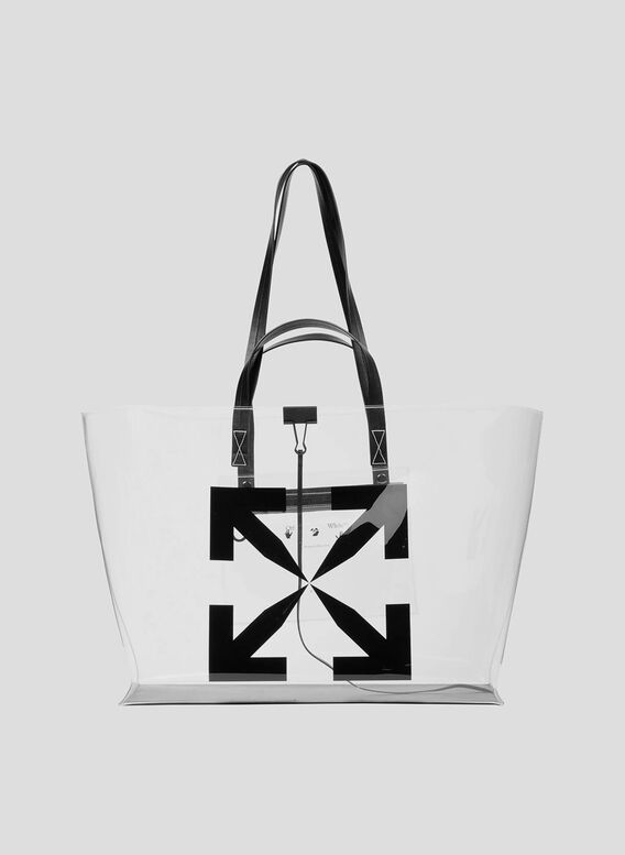 BORSA LARGE ARROW TOTE BAG, 0010NOCOLOR, medium