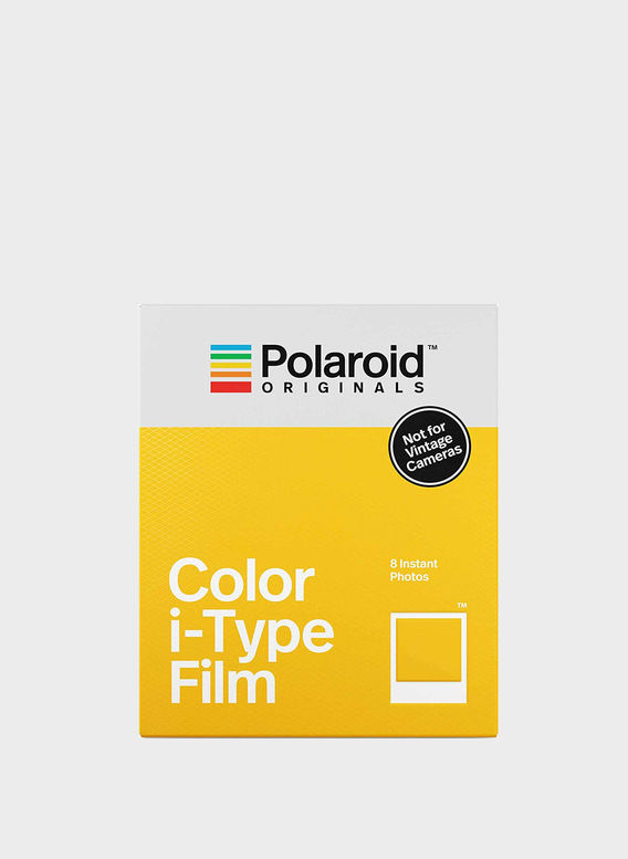 POLORAID COLOR I-TYPE FILM, WHITEFRAME, medium
