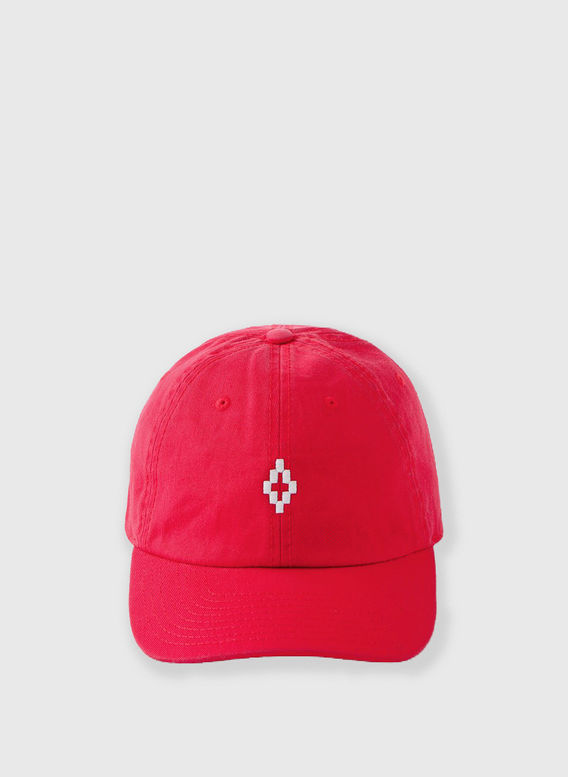 CAPPELLO CROSS CAP, RED/WHITE, medium