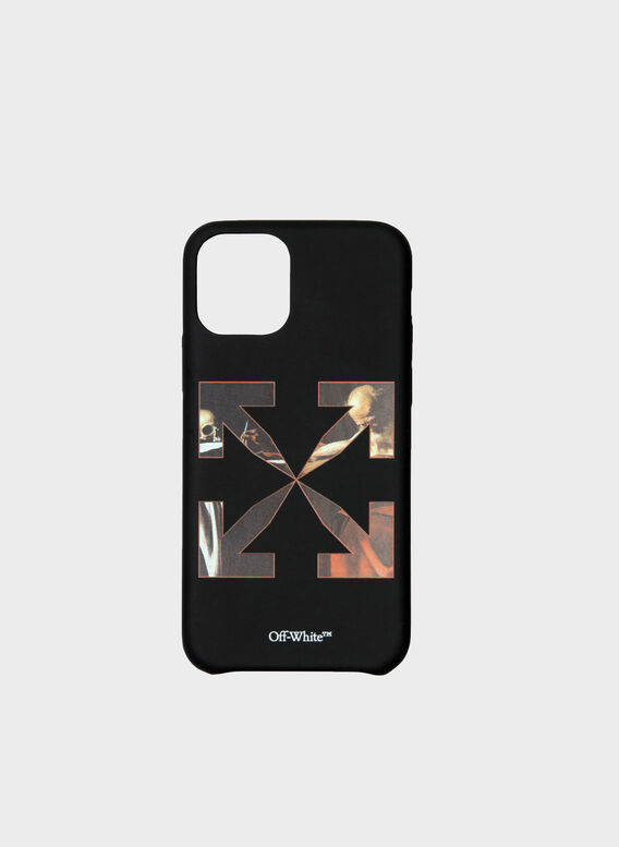COVER CARAVAGGIO IPHONE 12 MINI, 1025BLACKRED, medium