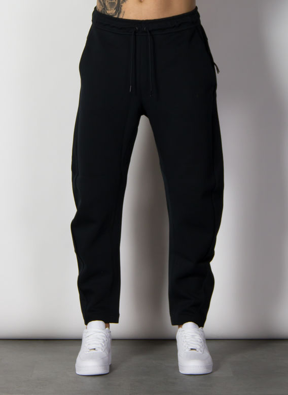 PANTALONE TECH FLEECE, BLACK/BLACK, medium