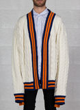 MAGLIONE ULU, WHITE/ORANGE/NAVY, thumb